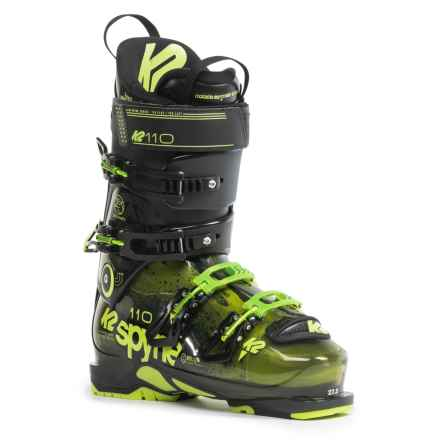 K2 SpYne 110 Ski Boots (For Men and Women) in See Photo - Closeouts
