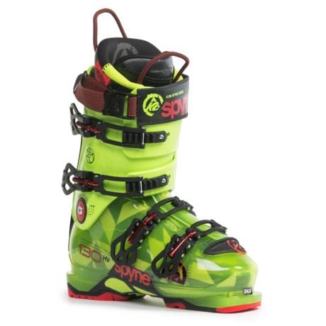 K2 SpYne 130 HV Ski Boots in See Photo