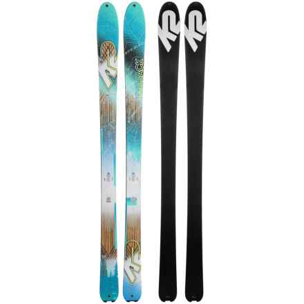 K2 Talkback 82 ECOre Alpine Skis (For Women) in See Photo - Closeouts