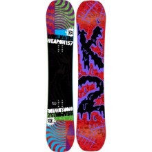K2 WWW (World Wide Weapon) Rocker Snowboard in Graphic - Closeouts