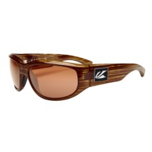 Kaenon Baton Sunglasses - Polarized in Walnut/ C12 Copper - Closeouts