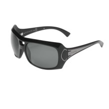 Kaenon Calais Sunglasses - Polarized (For Women) in Black/G12 Grey - Closeouts