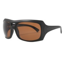 Kaenon Calais Sunglasses - Polarized (For Women) in Matte Black/C12 Copper - Closeouts