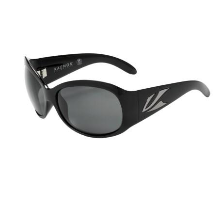 Kaenon Delite Sunglasses - Polarized (For Women) in Black/G12 Grey