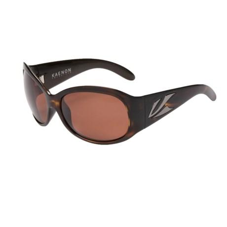 Kaenon Delite Sunglasses - Polarized (For Women) in Tortoise/C12 Copper