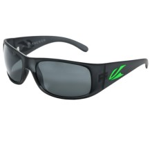 Kaenon Jetty Sunglasses - Polarized Mirrored in Graphite Green/G12m Black Mirror Grey - Closeouts