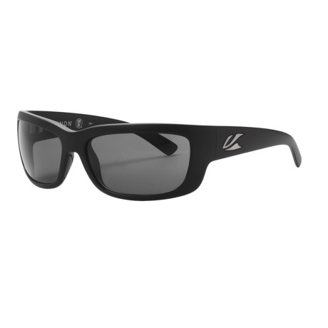 Kaenon Kabin Sunglasses - Polarized in Matte Black/G12 Grey