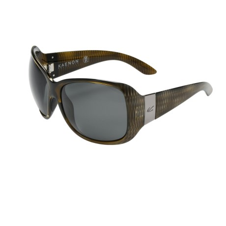 Kaenon Leila Sunglasses - Polarized (For Women) in Barramundi/G12 Grey