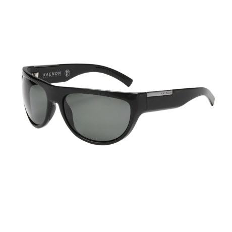 Kaenon Pino Sunglasses - Polarized in Black/G12 Grey