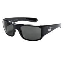 Kaenon Pintail Sunglasses - Polarized in Black/G12 Grey - Closeouts