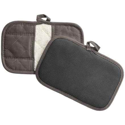KAF Home Claw Oven Mitts - Set of 2 in Grey - Closeouts