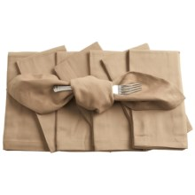 KAF Home Cloth Napkins - Set of 8 in Flax - Closeouts