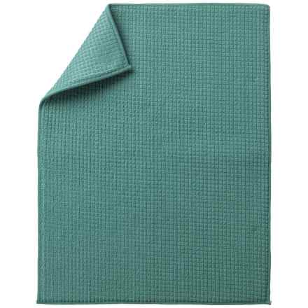 """KAF Home Dish-Drying Mat - 15x20"""" in Teal - Closeouts"""