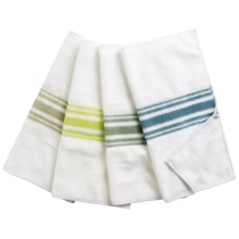 KAF Home Microfiber Cloths - Set of 4 in Multi - Closeouts