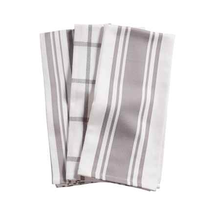KAF Home Pantry Kitchen Towels - Set of 3, Cotton in Drizzle - Closeouts