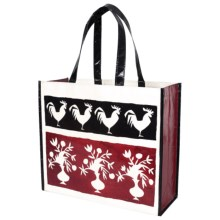 """KAF Home Soma Reusable Shopping Tote Bag - 14x16"""" in French Market - Closeouts"""