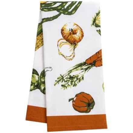 KAF Home Veggie Flour Sack Kitchen Towel in Veggie - Closeouts