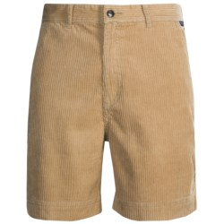 Kahala Kord Elas Shorts (For Men) in Dune