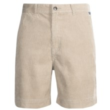 Kahala Kord Elas Shorts (For Men) in Stone - Closeouts