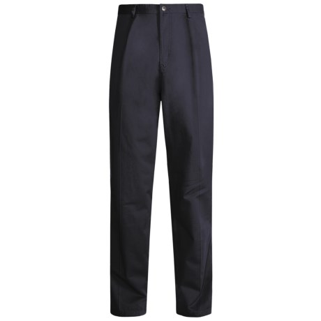 Kahala Twill Elastic Pants (For Men) in Navy