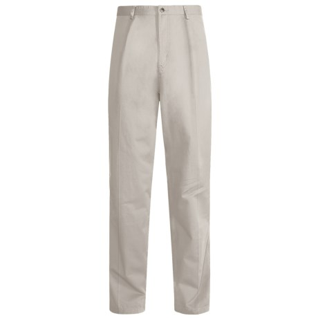 Kahala Twill Elastic Pants (For Men) in Stone