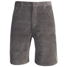 Kahala Wale Kord Shorts (For Men) in Charcoal - Closeouts