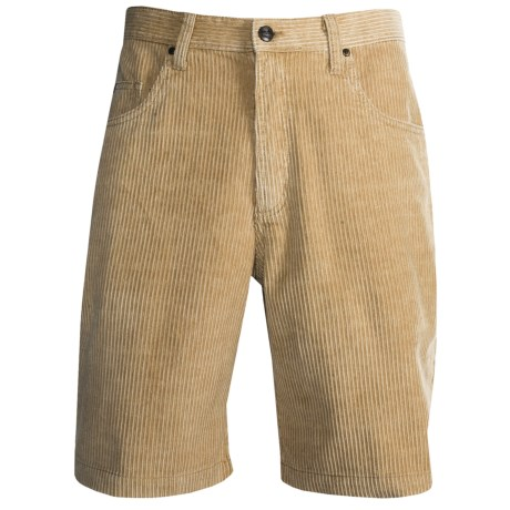 Kahala Wale Kord Shorts (For Men) in Dune