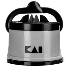 Kai Pure Komachi 2 Pull-Through Knife Sharpener in Gray/Black - Closeouts