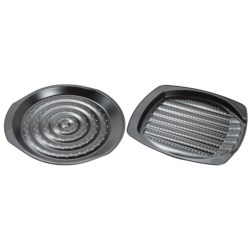Kaiser Pizza, Fries and Veggies Oven Crisper Pans - Nonstick, Set of 2 in See Photo