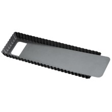 "Kaiser Rectangle Tart/Quiche Pan - 13.75x5"" in See Photo - Closeouts"