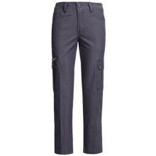 Kakadu 8 oz. Gunn-Worn Canvas Cargo Pants (For Women) in Blue - Closeouts