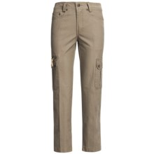Kakadu 8 oz. Gunn-Worn Canvas Cargo Pants (For Women) in Taupe - Closeouts