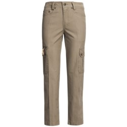 Kakadu 8 oz. Gunn-Worn Canvas Cargo Pants (For Women) in Blue