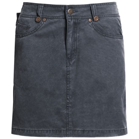 Kakadu Ashbury Skirt - 8 oz. Gunn-Worn Canvas (For Women) in Blue