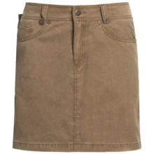 Kakadu Ashbury Skirt - 8 oz. Gunn-Worn Canvas (For Women) in Tobacco - Closeouts
