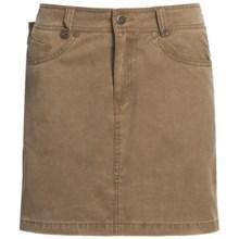Kakadu Ashbury Skirt - 8 oz. Gunn-Worn Canvas (For Women) in Tobacco - Closeouts