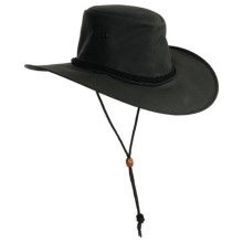 Kakadu Australia Cape York Hat - UPF 50+, Packable (For Men and Women) in Black - Closeouts