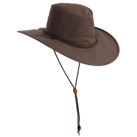 Kakadu Australia Cape York Hat - UPF 50+, Packable (For Men and Women) in Tan