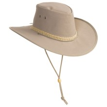 Kakadu Australia Cape York Hat - UPF 50+, Packable (For Men and Women) in Grey - Closeouts