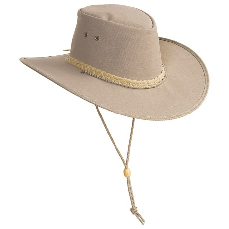 Kakadu Australia Cape York Hat - UPF 50+, Packable (For Men and Women) in Black