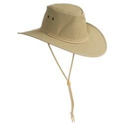 Kakadu Australia Cape York Hat - UPF 50+, Packable (For Men and Women) in Black
