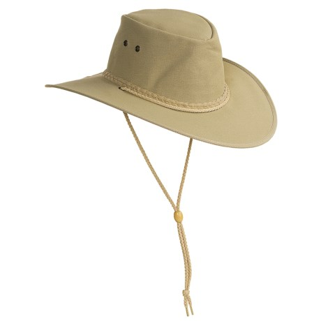 Kakadu Australia Cape York Hat - UPF 50+, Packable (For Men and Women) in Tan