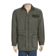 Kakadu Boundary Oilskin Jacket - Waxed Cotton (For Men) in Loden Green - Closeouts