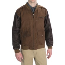 Kakadu Breaker Jacket - Scrubbed Waxed Cotton (For Men) in Tobacco - Closeouts