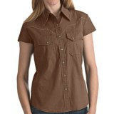 Kakadu Carson 5 oz. Gunn-Worn Canvas Shirt - Short Sleeve (For Women)