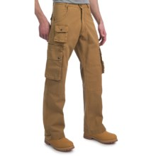 Kakadu Derby Gunn-Worn Cargo Pants - 10 oz. Cotton Canvas (For Men) in Mustard - Closeouts