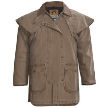 Kakadu Gold Coast Jacket - Gunn Worn Canvas (For Men) in Tobacco - Closeouts