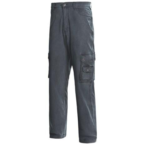 Kakadu Gunn-Worn Cargo Pants - 8 oz. Cotton Canvas (For Men) in Blue