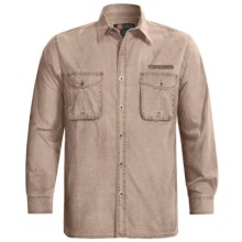 Kakadu Logan Shirt - Long Sleeve (For Men) in Bone - Closeouts
