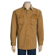 Kakadu McCleod Canvas Shirt - Long Sleeve (For Men) in Mustard - Closeouts